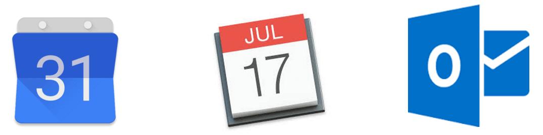 Integrated calendar logos